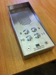 Vadal resistant keypad panel