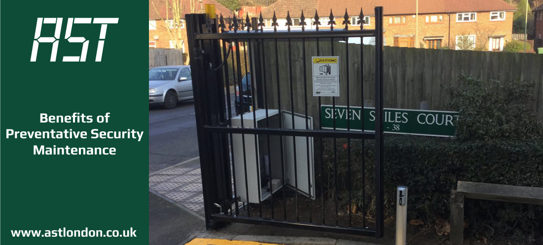 security gate installed