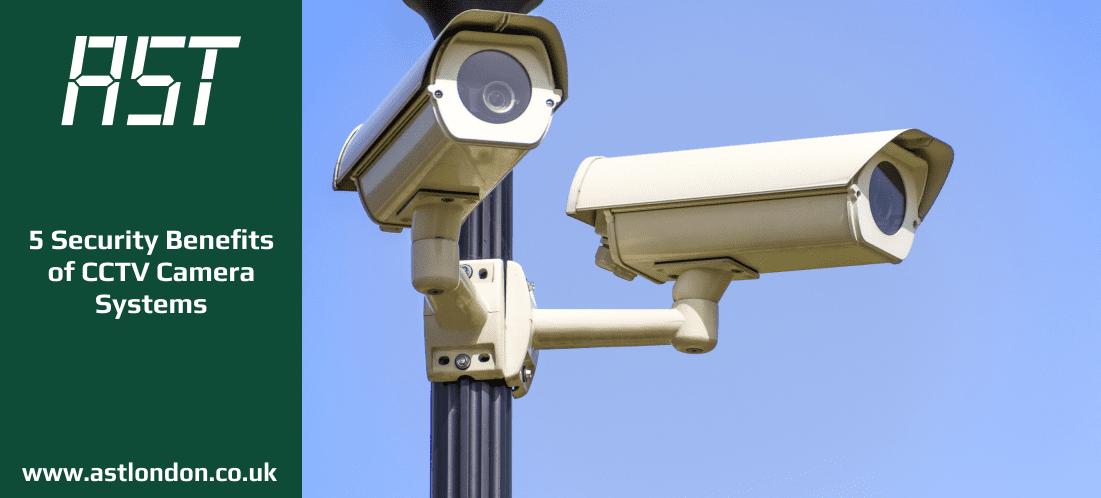 cctv camera system installed