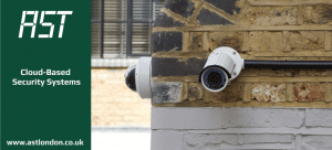 cctv cameras installed on wall