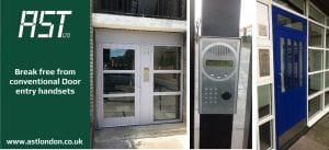 ast london door entry handsets installed