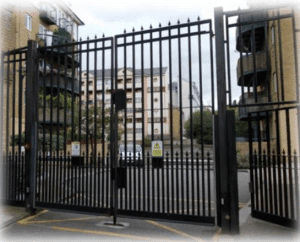 automated gate in london