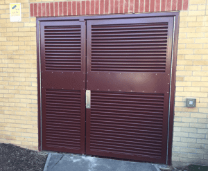 Outside areas can still be stylish while functional, with AST's sturdy chic security doors.