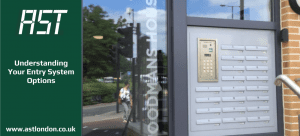 door entry system to a building