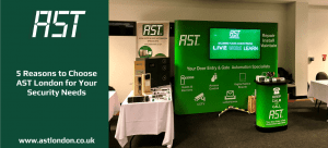 Ast London stand at a show