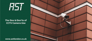 CCTV camera in London