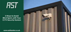 CCTV camera on side of building