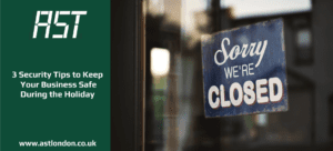 'Closed' sign in shop window